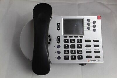 Lot Of 15 Shoretel 265 Silver 6-line Voip Business Office Desk Phones