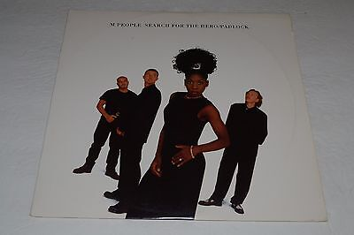 M People Search For The Hero   Padlock 1995 House 12  Single Fast Shipping