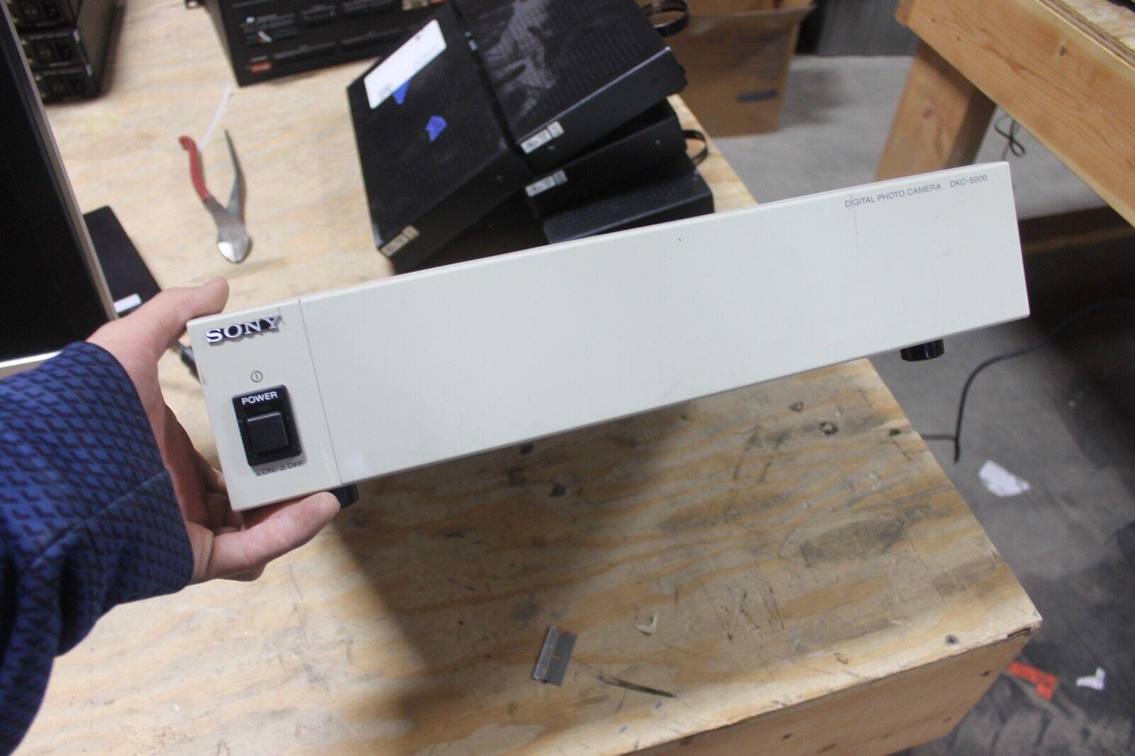 Sony DKC-5000 High-Resolution Digital Color Photo Camera Controller Unit
