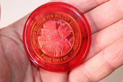 10 Halloween Games (Four Queens 2008 $10 Gaming Token Halloween Red)