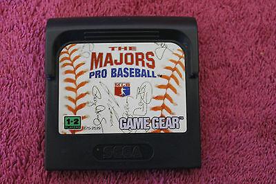 The Majors Pro Baseball SEGA GAME GEAR