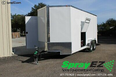Fully Customizable Spray Foam Trailers Featured 8.5x20 Pmc Ph-40 Proportioner