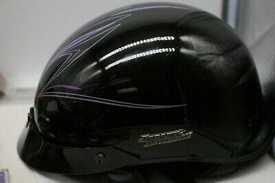 Harley-Davidson Ultra-Light Hybrid Spoiler Classic Cruiser Half Helmet MD