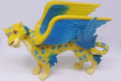 Disney Elena Of Avalor Skylar Figure Winged Leopard Toy Yellow Blue Cake Topper