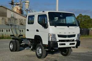 2020 Fuso Canter FG 4x4 Cab Chassis South Murwillumbah Tweed Heads Area Preview