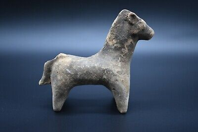 Indus Valley style terracotta horse figurine