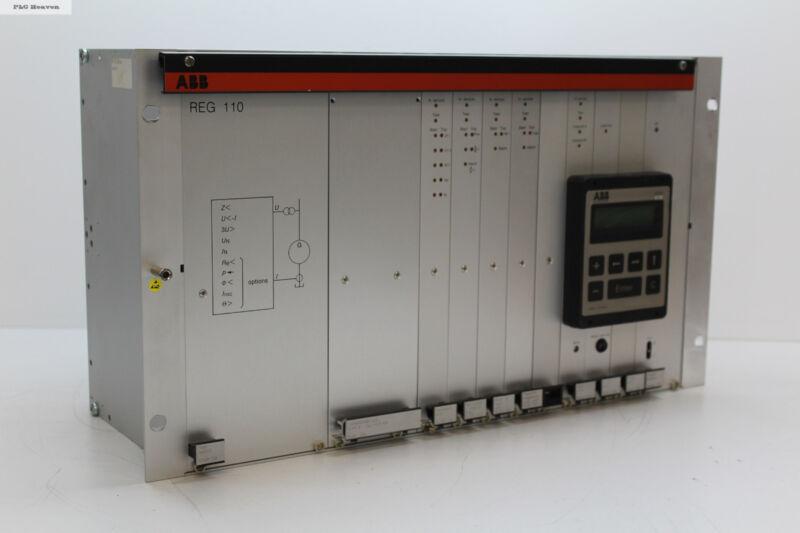 ABB REG 110 Generator Protection Controller