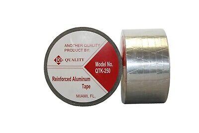 "Qty 8 Rolls HVAC Aluminum Foil Tape 3/"" x 1.7 MIL x 150 ft each roll"