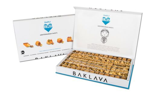 Simply Baklava Mediterranean Sweets (90-100 Pieces /1.98lbs / 900g)