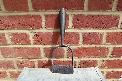 Vintage Brades Garden Hoe Head Allotment Raised Border weeder