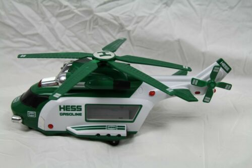 2012 HESS Gasoline Gas & Oil Toy Battery Operated Helicopter, Rescue, NO BOX