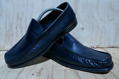 GIANNI VERSACE BLACK LOAFER SHOE  SIZE 42.5  UK 8