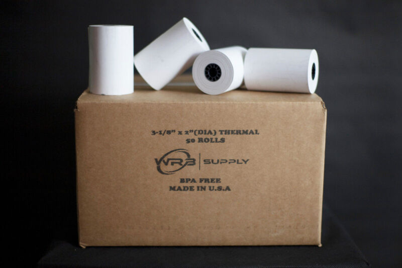 """3 1/8"""" (80mm) Thermal Paper Rolls for Epson Printers"""