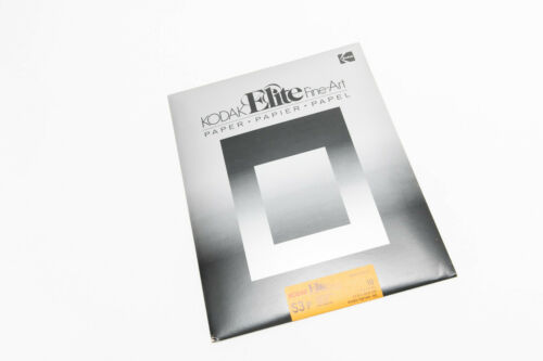 Vintage Sealed 10 Sheet Pack of Kodak 11x14 S3 P Elite Fine-Art Darkroom Paper