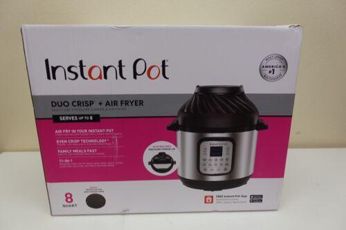 Instant Pot Duo Crisp 11-in-1 Air Fryer Electric Pressure Cooker Slow Cooker (M9