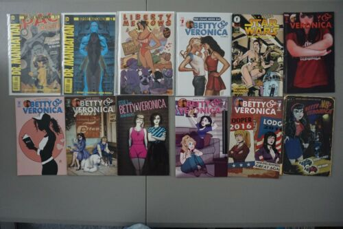 Adam Hughes AH! Lot of 48 HOT Covers Tomb Raider Betty Red Sonja Wonder Woman ++