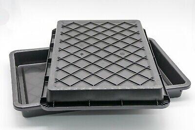 FabiMax 4597 Beistellbett BASIC wei/ß inkl Matratze AIR und Nestchen Amelie grau