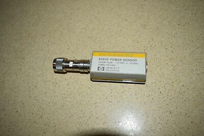 Ss Hewlett Packard 8481d Power Sensor Hg30