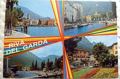 RIVA DEL GARDA TRENTINO ITALIEN ANSICHTSKARTE 1991
