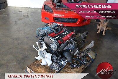 Jdm Nissan Silvia S13 CA18DET Engine 89-90 240sx 1.8L Turbo Ecu Automatic Trans