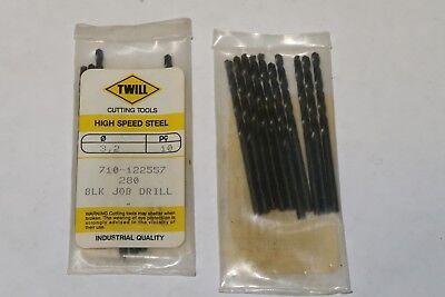 10 pcs TWILL 5.6mm Metric Jobber Length HSS Twist Drills Bits BRAZIL 5.6 M