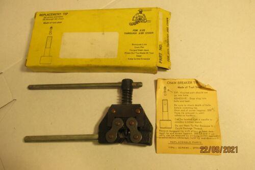 Roller Chain Breaker Tool for #25 thru #60 Chain - USA
