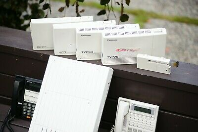 Panasonic D816 Pbx System With Accessories