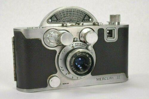 Univex Mercury II CX, 1945 Model, Half Frame 35mm, Very Clean, Works, Not Tested