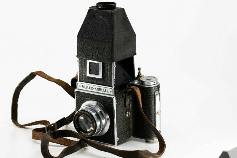 Kochmann Reflex Korelle II IIa? Carl Zeiss Jena Tessar 80mm 1: 2.8 Lens pr6