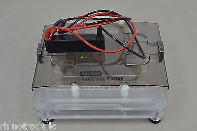 Bio Rad Whole Gel Eluter Harvester Electrophoresis Lab 300V 15W  12760 B44
