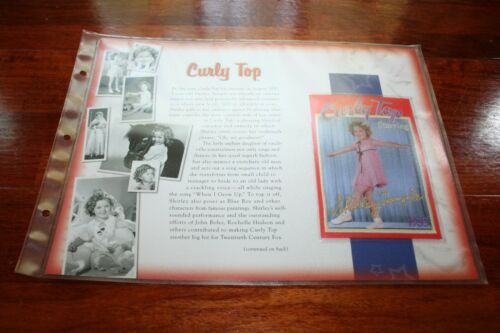 Shirley Temple patch Willabee Ward emblem memorabilia Curly Top 1935
