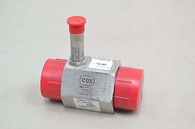 Cox Anc 24 Precision Turbine Flow Meter H-23