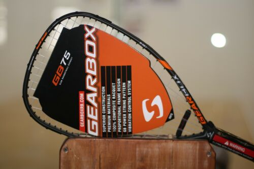 GEARBOX GBX75 190G  Racquet Black and Orange Color