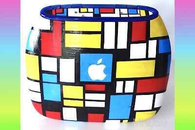 """Apple iBook Clamshell G3 Special """"MONDRIAN"""" Dual OS 9+X  SUPERB & LIMITED"""