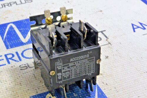 ARROW HART ACC220U10  CONTACTOR 35AMP 600VAC MODEL A