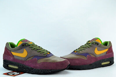 newest 0e56b ed6a2 Nike Air Max 1 Premium Terra Huarache Chutney Grape Size 10.5 2006  309717  071