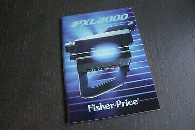 Original Vintage Fisher Price PXL 2000 Video Camera Manual  FREE SHIP!