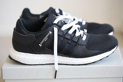 Mastermind x Adidas EQT Support Ultra CQ1826 Black Men Size UK 10 NEW