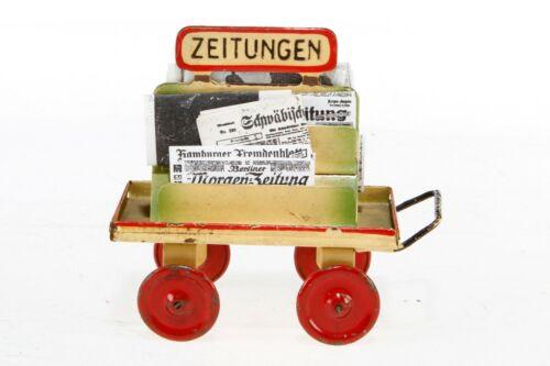 AC1853: Kibri O/1 Gauge Railway Station Newspaper Trolley