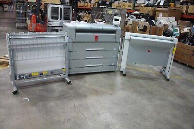 Oce Plotwave 750 Wide Format Plotter Printer Scanner Tc4 Feeder