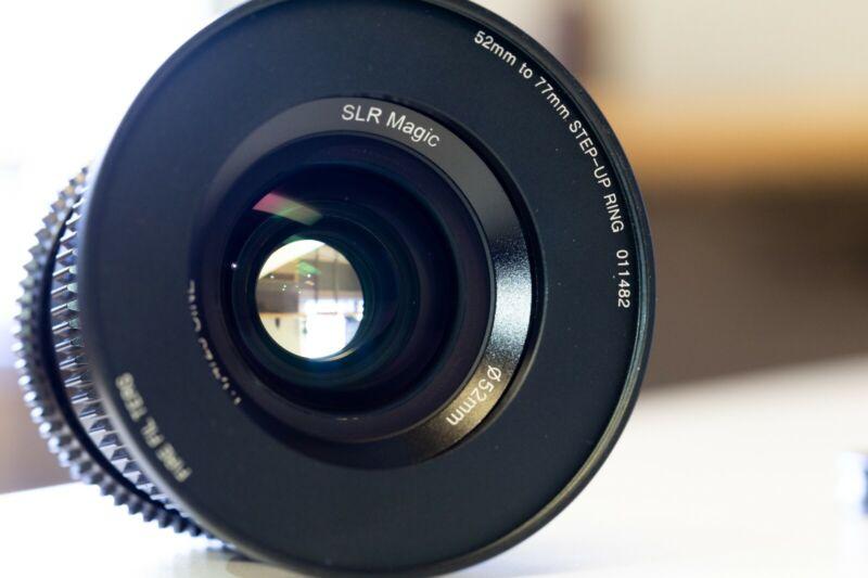SLR Magic 25mm f/1.4 Full Frame Cine Lens for Sony E Mount