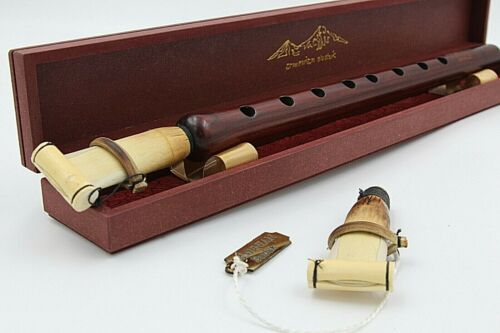 ARMENIAN DUDUK Professional Apricot Wood + 2 Reeds + wooden case + instruction