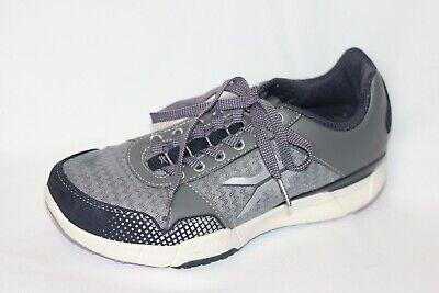 KURU Quantum Mesh Fitness Sneaker Gray Walking Shoes Women 7
