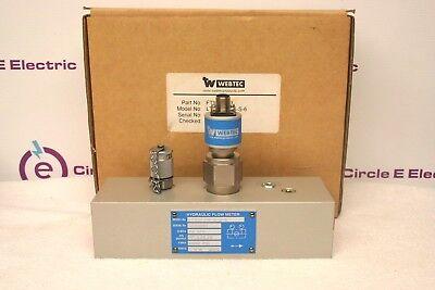 Webtec Lt150-fm-s-s-6 Hydraulic Flowmeter New In Box