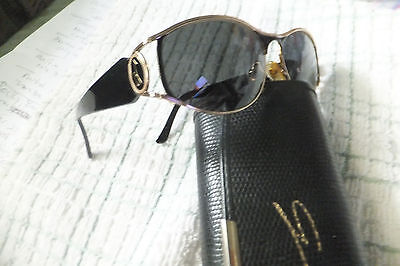 "Very Rare "" GUY""  Designer  Sunglasses and Case Excellent Very well Made Italy"