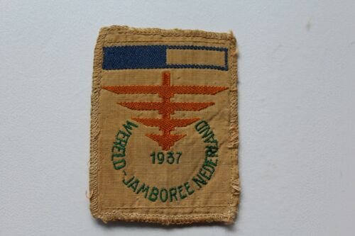 Vintage BSA Boy Scouts 1937 World Jamboree Nederland Patch /T2