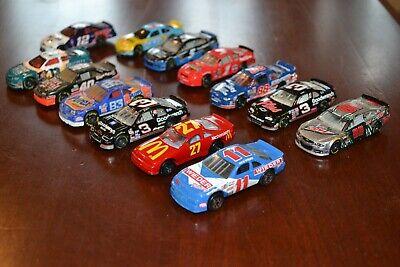 VINTAGE LOT 13 NASCAR DIECAST CAR HOT WHEELS MATCHBOX REVELL UNBRANDED