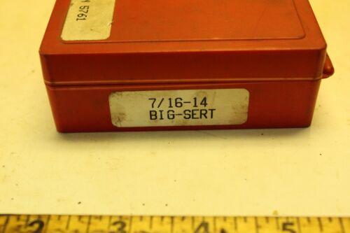 Big-Sert 7/16-14  thread repair kit. P/N 5761