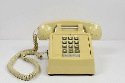 Vintage 1980s Pushbutton Desktop Telephone HAC2500-20M