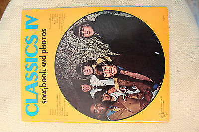 Classics IV songbook and photos- Sheet Music Vocal Chords Piano Guitar